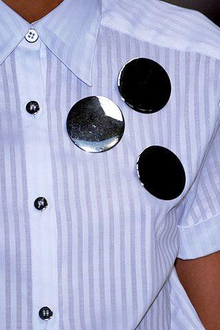 Richard Nicoll Spring 2007 Ready-to-wear Detail 0001