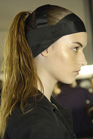 Hamish Morrow Spring 2007 Ready-to-wear Backstage 0001