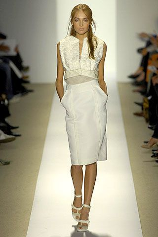 J. Mendel Spring 2007 Ready-to-wear Collections 0002