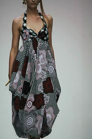 Zandra Rhodes Spring 2007 Ready-to-wear Detail 0003