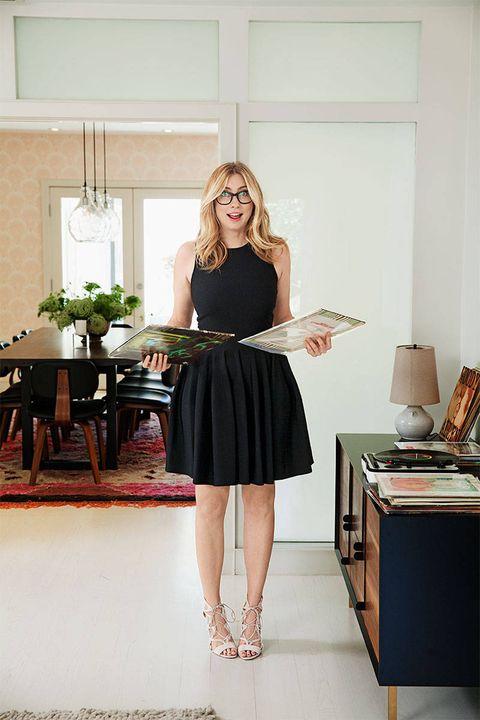 Dress, Room, Style, Table, Formal wear, One-piece garment, Little black dress, Cocktail dress, Day dress, Waist,