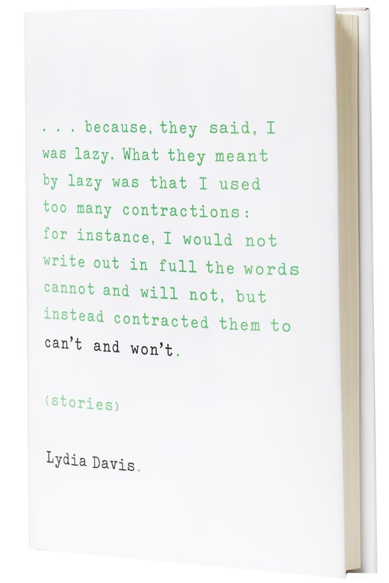 Lydia Davis Delivers Drama With Her Intimate New Book
