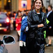 london street style, london fashion week