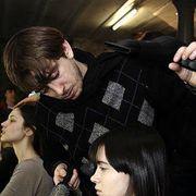 Marios Schwab Fall 2007 Ready-to-wear Backstage - 001
