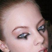 Blue, Lip, Cheek, Brown, Hairstyle, Skin, Chin, Forehead, Eyelash, Eyebrow,