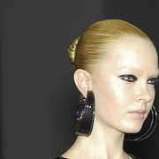 Head, Ear, Earrings, Hairstyle, Style, Eyelash, Temple, Neck, Blond, Makeover,