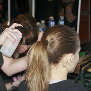 Hairstyle, Mammal, Style, Fashion, Beauty salon, Temple, Long hair, Bottle, Plastic bottle, Nail,