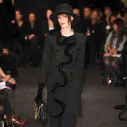 Clothing, Footwear, Leg, Sleeve, Trousers, Hat, Outerwear, Style, Street fashion, Fashion accessory,