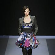 Clothing, Fashion show, Shoulder, Joint, Outerwear, Runway, Fashion model, Style, Beauty, Fashion,