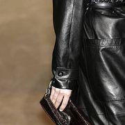 Textile, Style, Leather, Fashion accessory, Fashion, Black, Leather jacket, Jacket, Material property, Zipper,