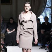 Clothing, Footwear, Leg, Fashion show, Event, Sleeve, Shoulder, Runway, Joint, Outerwear,