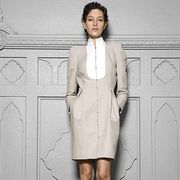 Clothing, Footwear, Sleeve, Collar, Shoulder, Textile, Joint, Outerwear, White, Style,