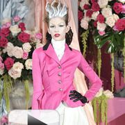 Christian Dior's spring 2010 haute couture collection