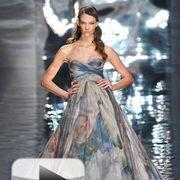 Dress, Shoulder, Formal wear, Gown, Style, One-piece garment, Fashion model, Fashion, Day dress, Costume design,