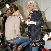 Celine Fall 2004 Ready-to-Wear Backstage 0001