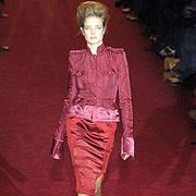 YSL Rive Gauche Fall 2004 Ready-to-Wear Collections 0001