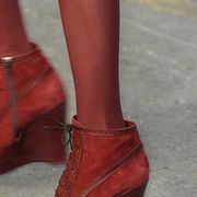 Footwear, Brown, Shoe, Red, Joint, Carmine, Leather, Fashion, Maroon, Tan,