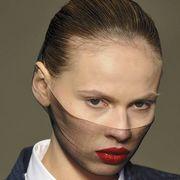 Hair, Head, Ear, Lip, Cheek, Hairstyle, Collar, Skin, Chin, Forehead,