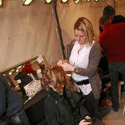 Luggage and bags, Bag, Handbag, Makeover, String instrument, String instrument, Plucked string instruments, Layered hair, Boot, Hair coloring,