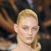 Ear, Lip, Hairstyle, Shoulder, Eyebrow, Eyelash, Style, Beauty, Fashion, Neck,