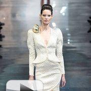 Giorgio Armani Privé's spring 2010 haute couture collection