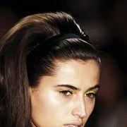 Head, Nose, Lip, Cheek, Mouth, Hairstyle, Chin, Forehead, Eyebrow, Eyelash,