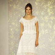Brown, Shoulder, Textile, Joint, Human leg, Style, One-piece garment, Dress, Formal wear, Waist,