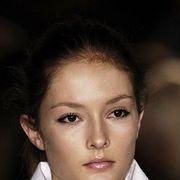 Lip, Cheek, Hairstyle, Skin, Chin, Forehead, Shoulder, Eyebrow, Eyelash, Jaw,