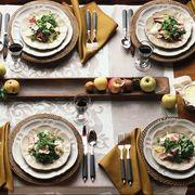 Meal, Dish, Food, Cuisine, Dishware, Table, Brunch, Plate, Supper, À la carte food,
