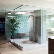Floor, Interior design, Flooring, Room, Wood, Glass, Property, Architecture, Wall, Interior design,