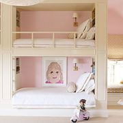 Product, Room, Interior design, Pink, Home, Toy, Interior design, Peach, Baby Products, Molding,