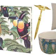 Teal, Art, Aqua, Home accessories, Bird, Creative arts, Natural material, Craft, Paper product, Porcelain,