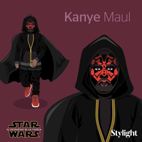 <p>Kanye Maul.</p>