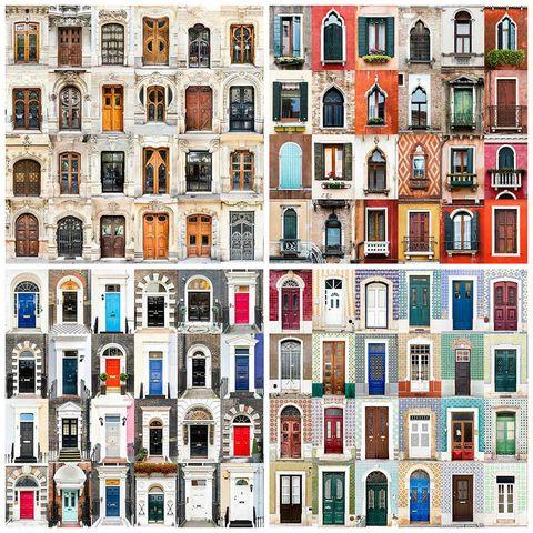 """<p>… También lo hace una puerta. Y ahí está <a href=""""http://www.andrevicentegoncalves.com/"""" target=""""_blank"""">André Vicente Gonçalves,</a> un fotógrafo portugués que ha recorrido medio mundo capturando las más bellas puertas y ventanas. Y sus 'collages' son verdadermente espectaculares, auténticos mosaicos. Gonçalves empezó unos estudios de Informática que cambió por los de Fotografía, y con esa decisión, explica, """"aprendí algo importante: 'elige un trabajo que ames y nunca tendrás que trabajar ni un día en tu vida' (Confucio)"""".</p>"""