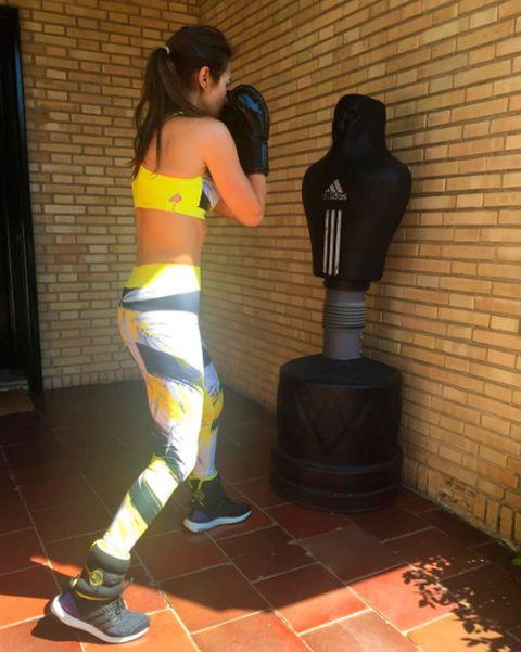 <p>Nuestra bloguera <strong>Paula Echevarría</strong> se atreve hasta con el boxeo.</p><p>&nbsp;</p>