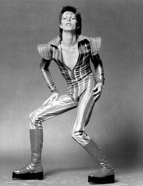 <p>Bowie, caracterizado como su personaje más famoso, Ziggie Stardust, en una foto de junio de 1972.</p>