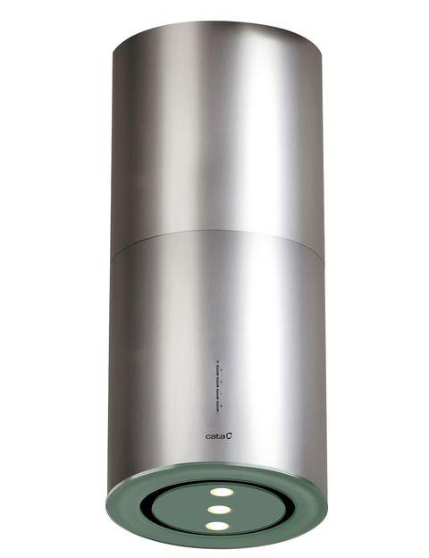 <p>La campana<i> Isla Faro</i>, de Cata, tiene tres velocidades e iluminación led de alta eficiencia, 925 €.&nbsp;</p>