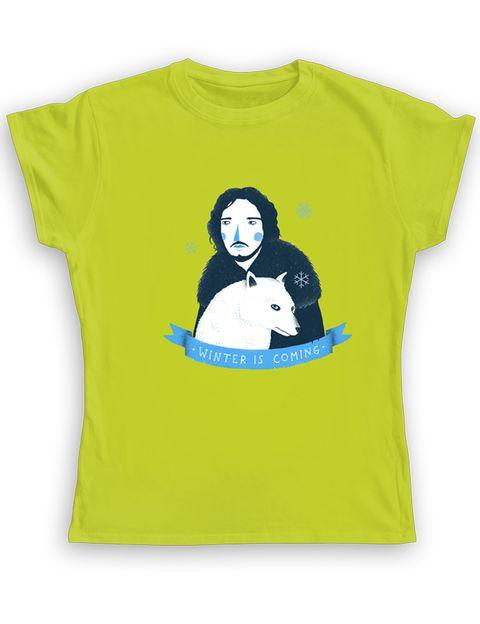 <p>Camiseta personalizada de Paula García con la efigie de Jon Snow (18,24 €), en <strong>Camaloon.es.</strong></p>