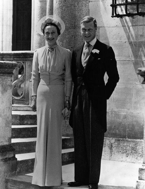 τα πιο διάσημα νυφικά στην ιστορία Wallis Simpson