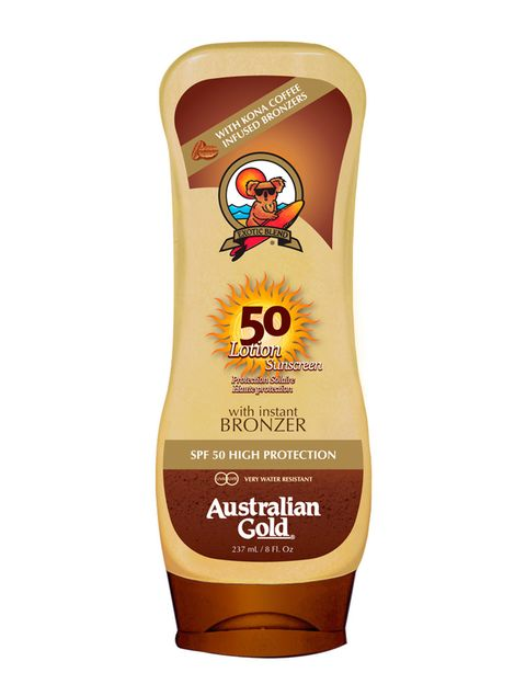 "<p>""Lotion Sunscreen With Instant Bronzer"" (18,95 €), protector solar con bronceador incorporado. De <strong>Australian Gold</strong> (en <a href=""http://www.coolmums.es/"" target=""_blank"">coolmums</a>).</p>"