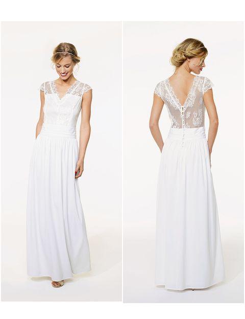 vestidos de novia kiabi