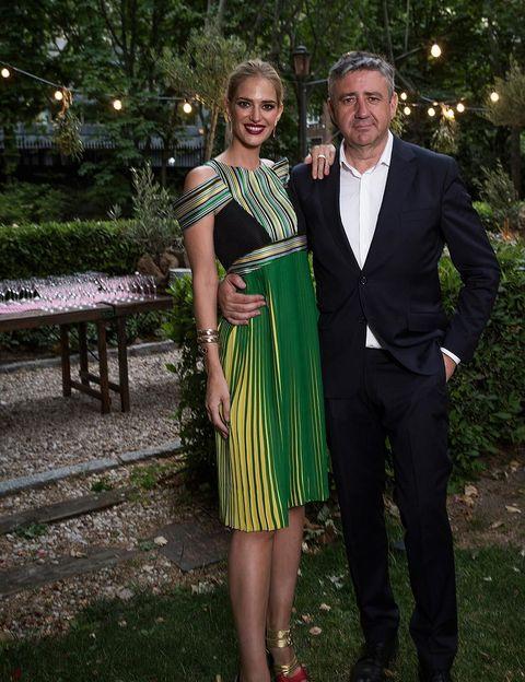 <p>El fantástico dúo formado por <strong>Teresa Baca y Ramón Arangüena</strong>, encargados de presentar los premios de la noche.</p>