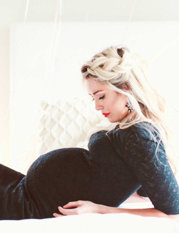 Vestidos para mujeres bajitas embarazadas