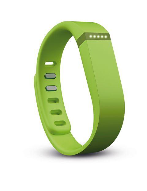 <p>Pulsera de seguimiento de la actividad física 'Flex' (99,95 €), de <strong>Fitbit.</strong></p>