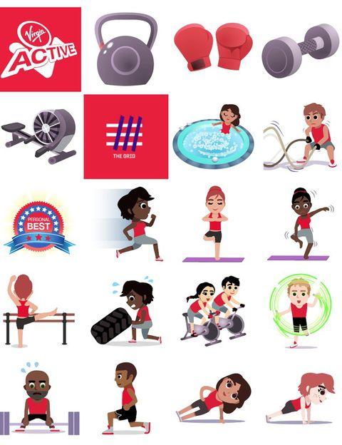 """<p>Ya puedes descargarte <strong>la primera app emojis de fitness con imágenes y GIFS únicos</strong>. Se llama #Emojivation y ha sido creada por la cadena de clubes deportivos Virgin Active para motivarte a compartir tus experiencias en redes sociales. <strong>Estos 36 emojis personalizados reflejan algunas de las actividades que se practican habitualmente</strong> en el área del fitness y wellness: spinning, boxing, yoga, sentadillas, flexiones, burpees, esquí y hasta un icono de jacuzzi. <strong>Puedes descargártelos en <a href=""""http://www.apple.com/itunes/download/"""" target=""""_blank"""">PlayStore</a></strong>&nbsp; o<strong> <a href=""""https://play.google.com/store/apps/details?id=com.swyft.virgin_active"""" target=""""_blank"""">Google Play</a></strong> para que pasen a formar parte de tu teclado.</p><p>&nbsp;</p>"""