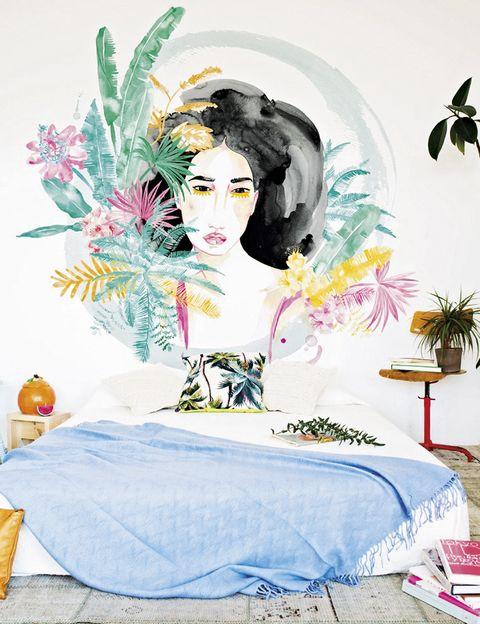 <p>El del mural <i>Carmen</i> de la diseñadora Laura Costafreda.</p>