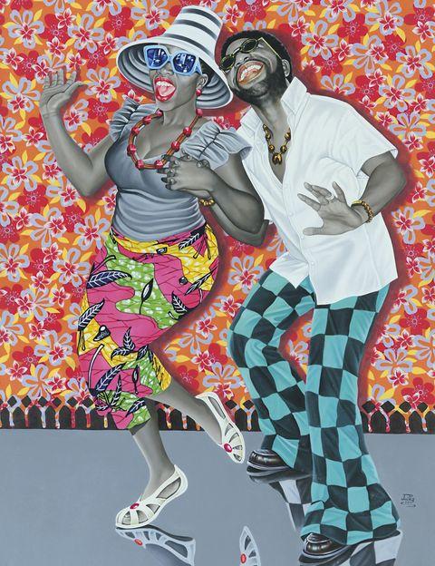 """<p>A través de unas 300 obras, como ésta de JP Mika, la Fundación Cartier repasa un siglo de vibrante y diversa creación artística en la República Democrática del Congo. Si estás en París, visita """"Beauté Congo 1926-2015 Congo Kitoko"""". Hasta el 10 de enero.</p>"""