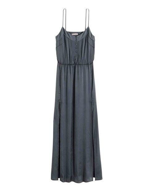 <p>Vestido con detalle de botones (34,99 €), de H&amp;M Concious Collection.</p>