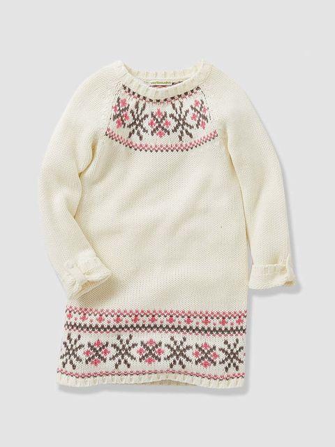 <p>Vestido con bordados de lana, de&nbsp&#x3B;<strong>Vertbaudet </strong>(14 €).</p>