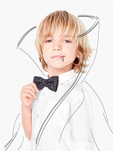 <p>Convierte al pequeño de la casa en todo un vampiro elegante con detalles como esta pajarita de&nbsp;<strong>Mango Kids.</strong></p>